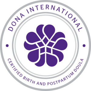 DONA Certified Birth and Postpartum Doula Badge